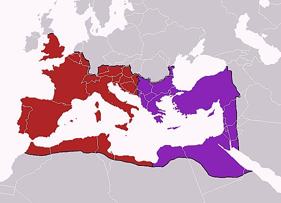 Römische Reichsteilung
