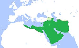 Regnats dels 4 primers califes