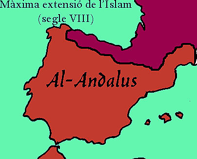 Els musulmans arriben a la península Ibèrica