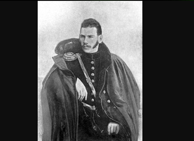 Tolstoy joins the army