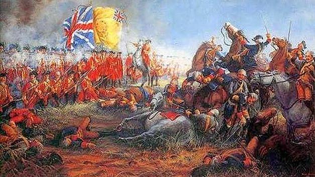 Bretaña gana la guerra y se suben los impuestos