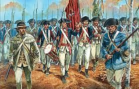 El congreso organiza el Ejército Continental
