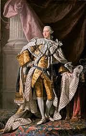 El rey Jorge III declara rebeldes a los colonos