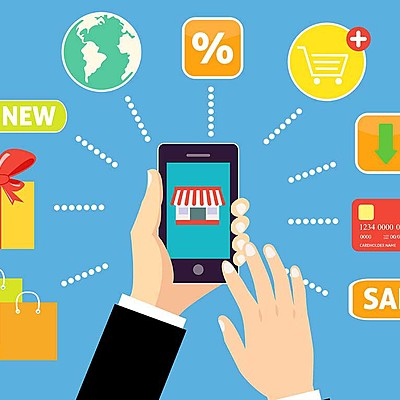 Evolución del comercio Electrónico timeline