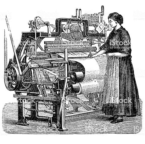 Richard Roberts inventa el telar automático