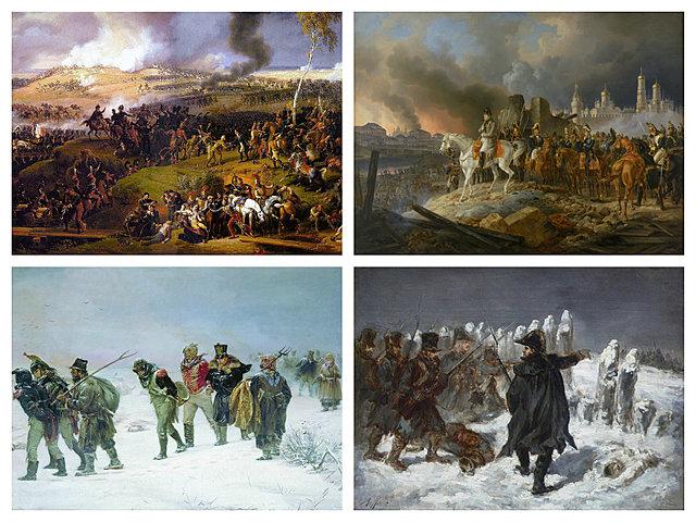 Napoleón inicia la conquista de Rusia