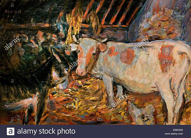 El establo | Bonnard