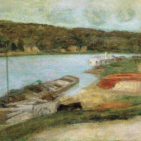 El sena en Vernon | Bonnard