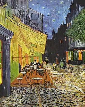 Terraza de café por la noche |Vincent Van Gogh