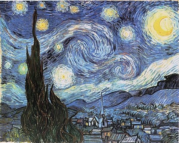La noche estrellada | Vincent Van Gogh