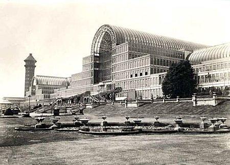 Exposición Universal en el Palacio de Cristal de Paxton