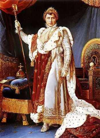 Napoleón se autocorona como emperador