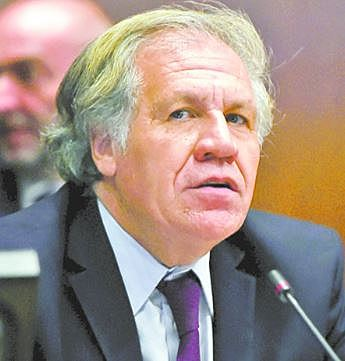 Almagro revela que 2 infiltrados operaron en auditoría