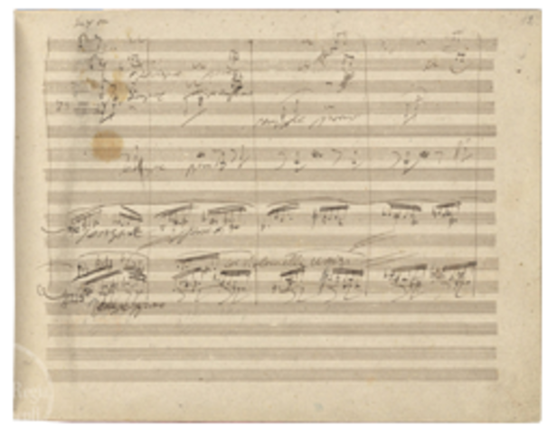 Symphony No. 9 is first performed in England
