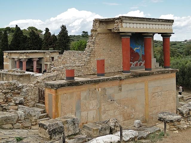Creación de Cnosos y Festos en Creta