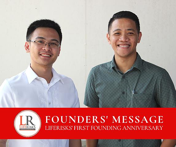 LifeRisks' 1st Anniversary
