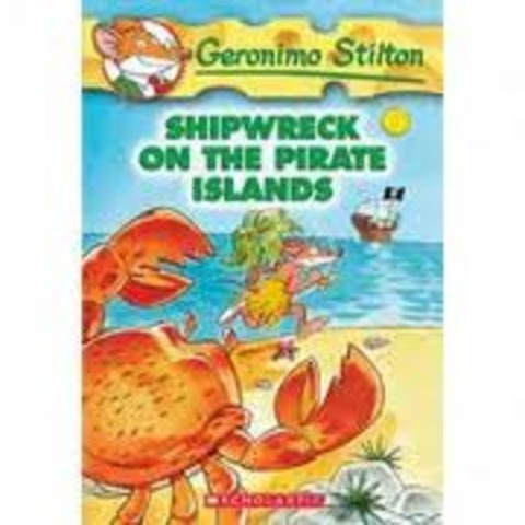 Geronimo Stilton Shipwreack on the pirate island