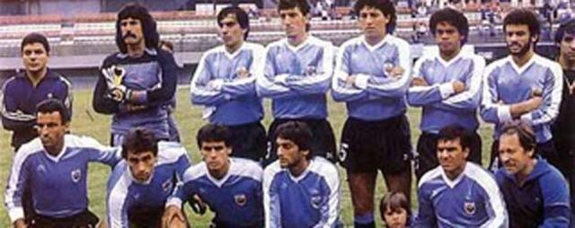 Copa América 1987, sede: ARG campeón: URU