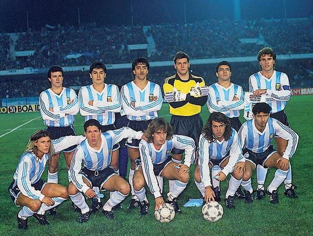 Copa América Chile 1991, campeón: ARG