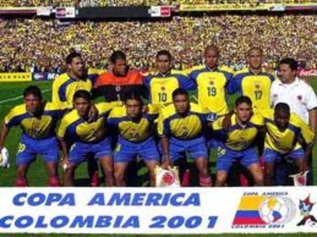 Copa América Colombia 2001, campeón: COL