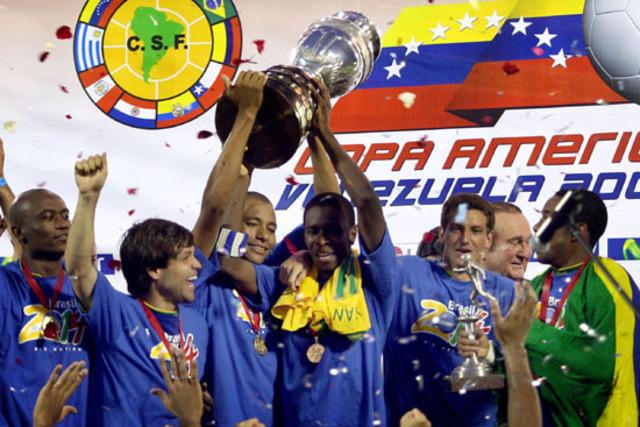 Copa América Venezuela 2007, campeón: BRA