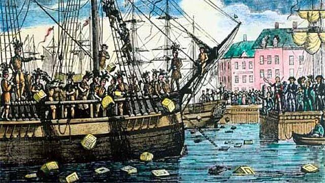 Botín de té de Boston
