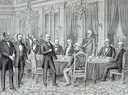 El Tratado de Paris pone fin oficialmente a la guerra
