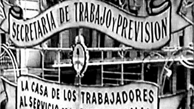 Perón a cargo del Departamento Nacional del Trabajo