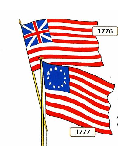 Cambio de la bandera de Estados Unidos