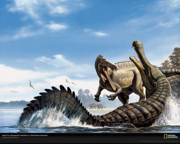 220 Million Years Ago: Mammals, Crocodiles and Dinosaurs appear