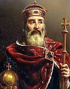 Coronació Carlemany com a Emperador