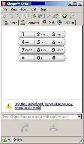 version beta de Skype