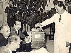 Perón gana las elecciones