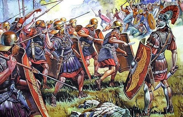 Roma conquista Grecia