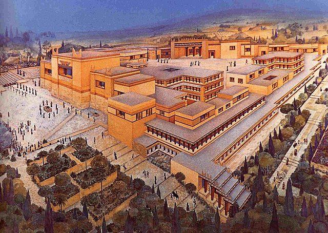 civilzaciones minoicas