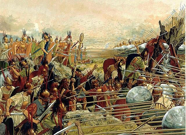 Guerra entre Macedonia y Grecia