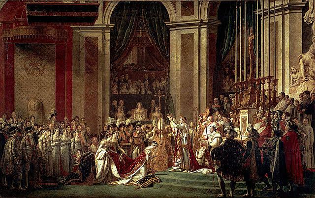 Coronació de Napoleó al 1804