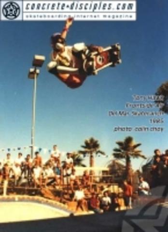 Dogtown skateboards sponsor him at age 12.