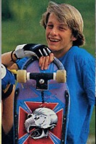 Known as one of the best skateboarders at age 16