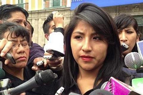 Cancillería autoriza salvoconducto a Evaliz para asilarse en México