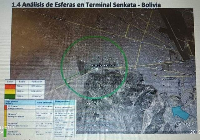 Explosión en Senkata pudo causar catástrofe