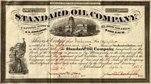 Contrato con la Standard Oil