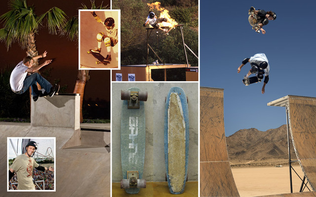 He retired skateboarding at 31 years old!