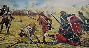 Britanicos se rinden en Saratoga