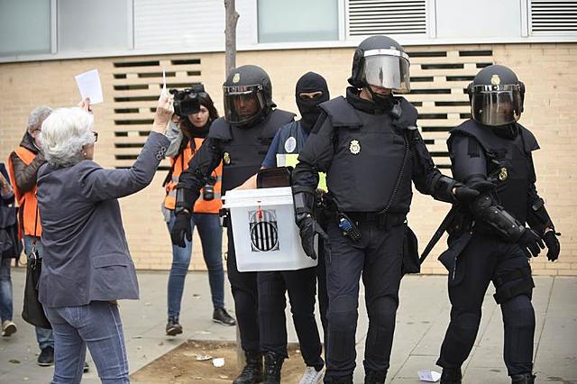 1 D'OCTUBRE (FET POLÍTIC)