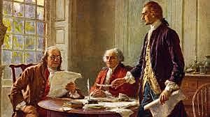 Jefferson redacta borrador de La Declaración