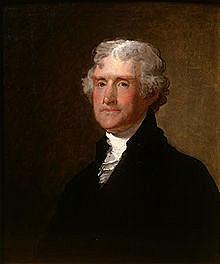 Thomas Jefferson es nombrado presidente
