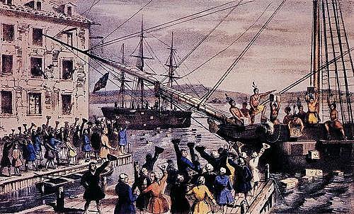 Se cierra el Puerto de Boston.