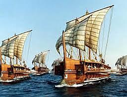 Colonizaciones en el mediterráneo