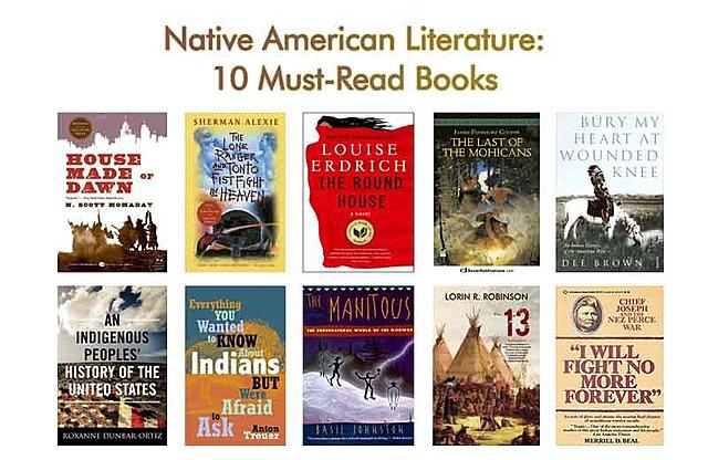 Native Americans Literature.
